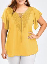 Женская блузка размеров плюс Vambe