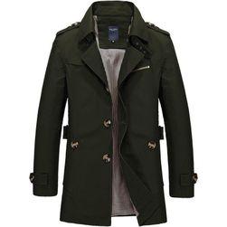 Férfi kabát gombokkal - 5 színben
