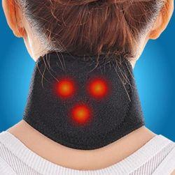 Turmalin öv nyakra - fekete