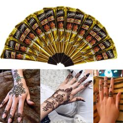 Prirodna kana za privremenu tetovažu