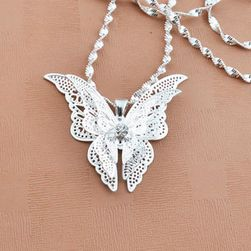 Přívěsek ve tvaru motýlka - 1 ks