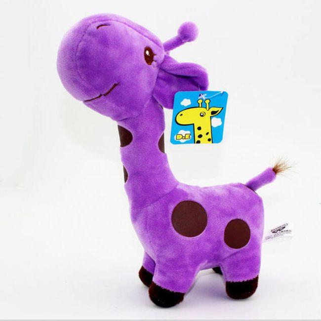Plyšová žirafa 1