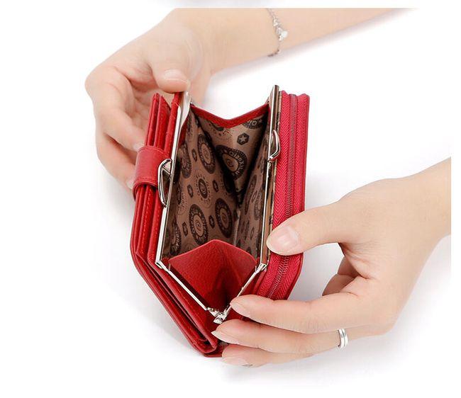Műbőr pénztárca kézbe a nők számára - 3 szín