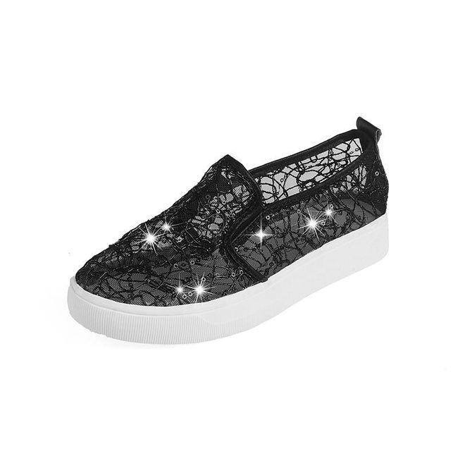 Nyári cipő kövekkel - 3 változat