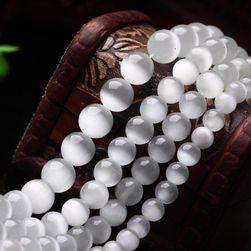 Fehér színű gyöngyök készlet ékszerek készítéséhez