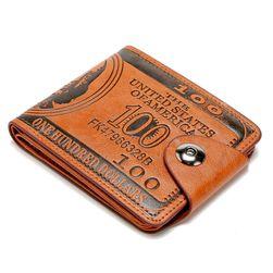 Portfel męski w formie banknotu studolarowego