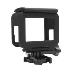 Ochranný rám pro GoPro Hero 5 s úchytem - černá barva