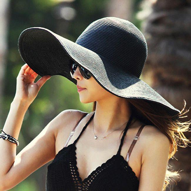 Широкополая женская шляпа- 5 вариантов 1
