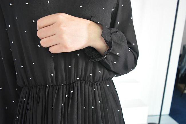 Női hosszú ujjú ruha Ronna