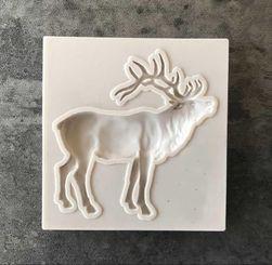 Silikonová formička - postavička jelena