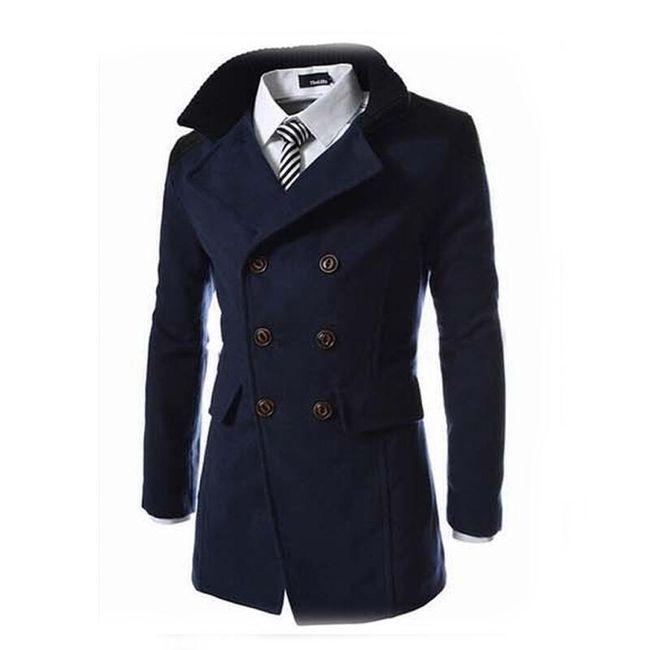 Muški kaput elegantnog dizajna 1