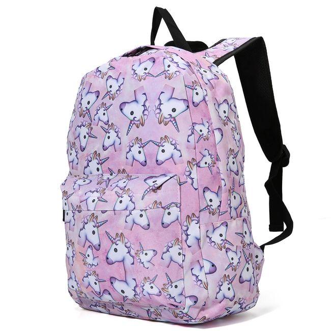 Dívčí batoh s jednorožci 1