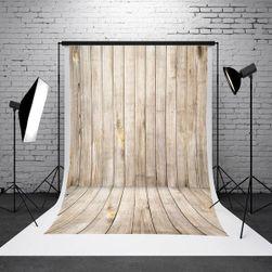 Fotó stúdió háttere - fából készült szoba - 1,5 x 2,1 m