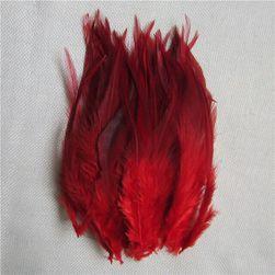 Ozdobne pióra 50 sztuk / 10 - 15 cm - różne kolory