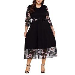 Dámské šaty plus size Lotus