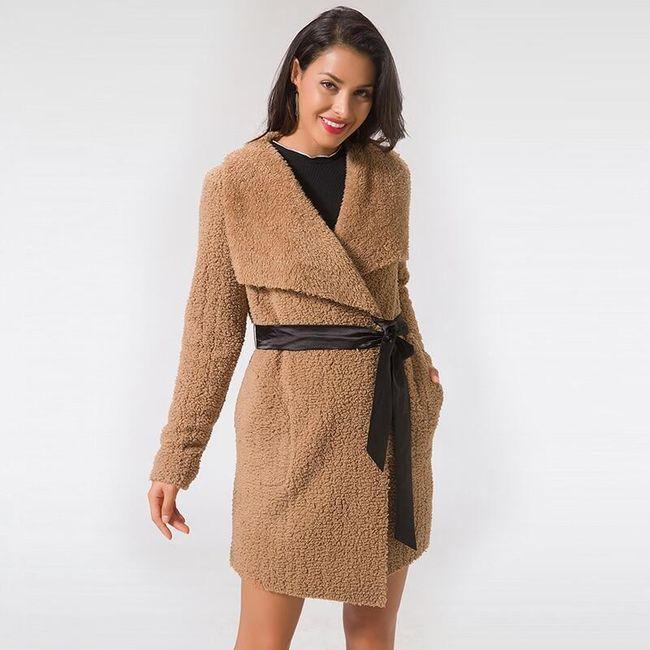 Női dzseki műszőrméből - 7 méret