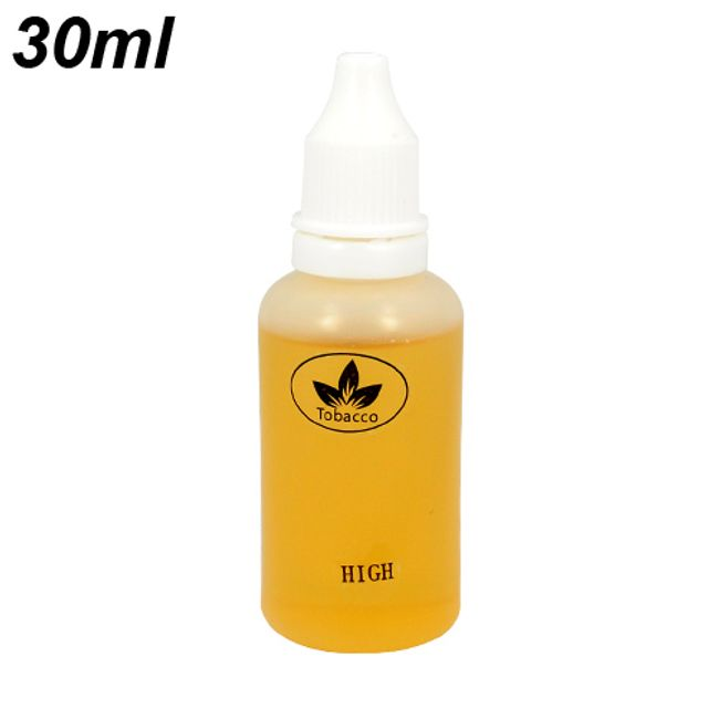 30ml E-liquid, bez příchuti, vysoký obsah nikotinu 1