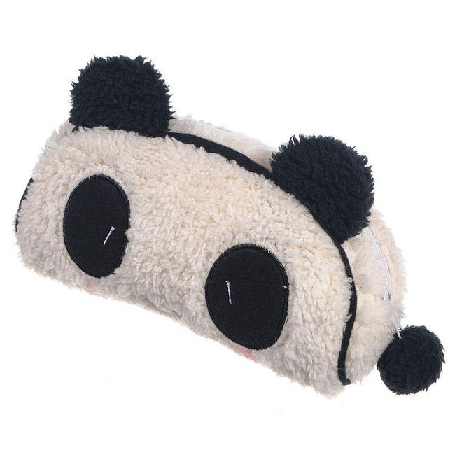Plyšové pouzdro s motivem pandy 1