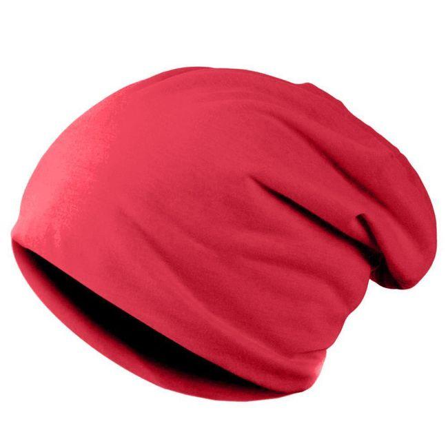 Unisex kulich ve veselé barvě - červená 1
