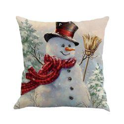 Bożonarodzeniowa poszewka na poduszkę OL5