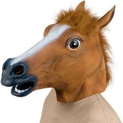 Латексова маска на кон