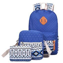 Комплект - рюкзак, сумка и кошелек
