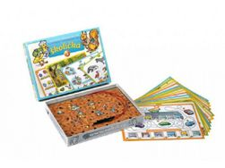 Školička 3 spoločenská hra na batérie v krabici 22x16x3cm RM_34650214