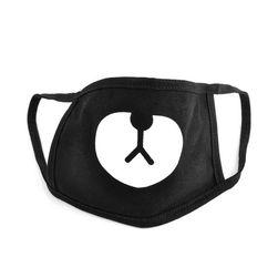 Maska ochronna na twarz - czarna