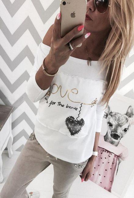 Női hosszú ujjú póló Candy