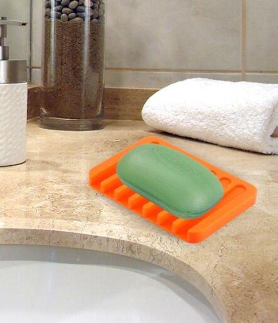 Silikonová podložka pod mýdlo 1