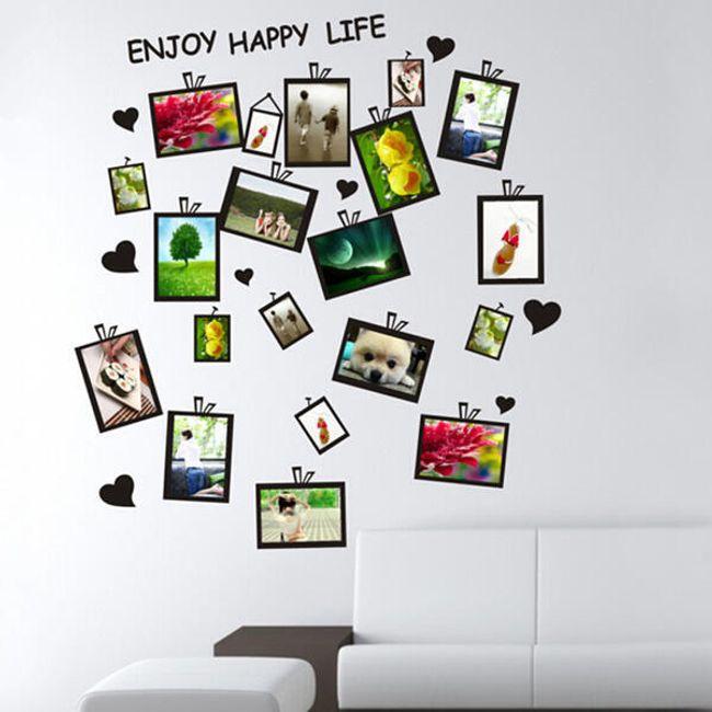 Наклейка на стену для фотографий 1