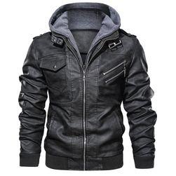 Férfi kabát Kase Černá - L