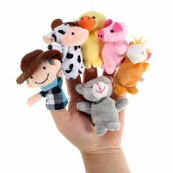 Комплект 10 кукли за пръсти - животинска ферма