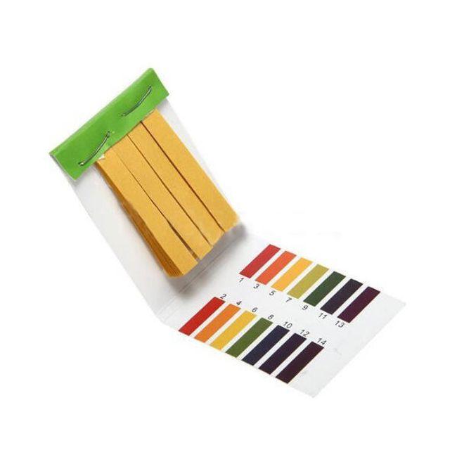 Papierki lakmusowe do mierzenia pH - 80 sztuk 1