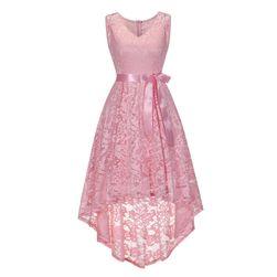 Dámské šaty s ozdobnou mašlí - 3 varianty