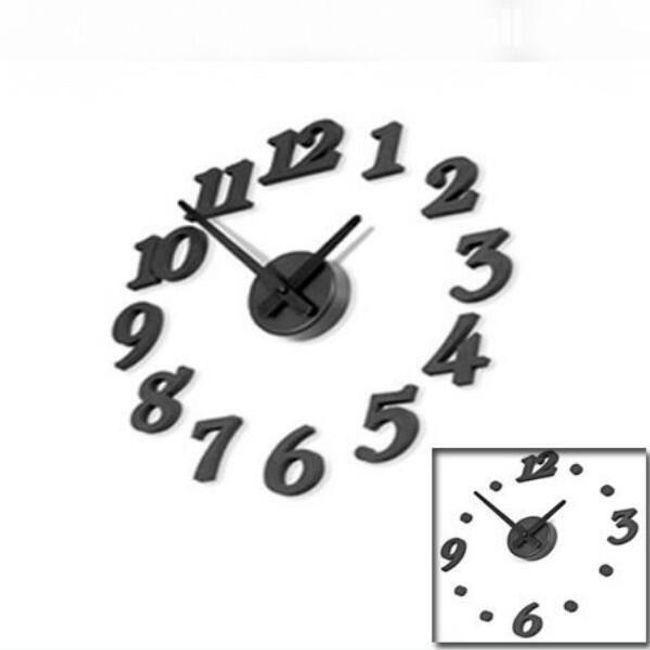 Designowy naścienny zegar 1