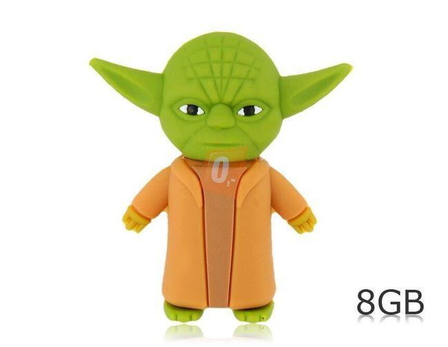 8 GB Flashdisk - Mistr Yoda 1