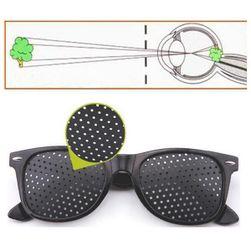 Дырчатые очки для расслабления и тренировки зрения