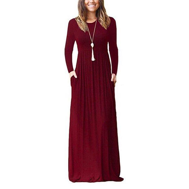 Hosszú női ruha Alyd 1