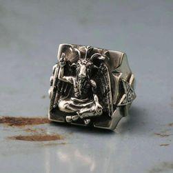 Мъжки пръстен Bafomet