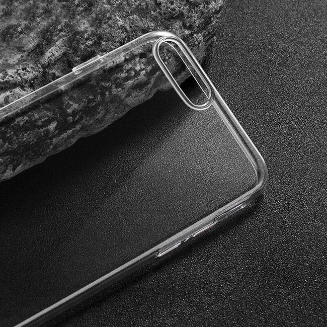 Průhledný silikonový kryt pro iPhone 7 Plus 1