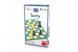 Šachy cestovní hra v krabičce 11,5x18x3,5cm RM_21622203