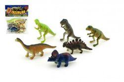 Dinosaurus plast 6ks v sáčku 14x19x3cm RM_00410385