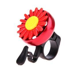 Zvono sa cvećem na biciklo