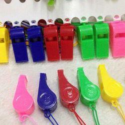 20 sztuk plastikowych gwizdków w wielu kolorach
