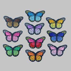 Leptiri koji se lepe sa peglom - 10 komada