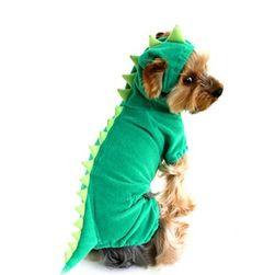 Костюм за куче - динозавър
