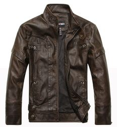 Férfi kabát Barry Barna - méret 8