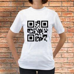 Koszulka QR kod Alicja