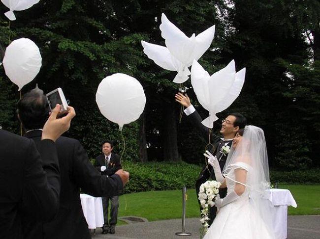 Balončići u obliku golubica 1